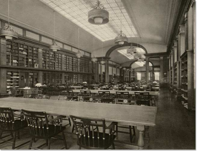 Baker Library Reading Room.