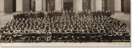 Harvard Business School Class of 1920.