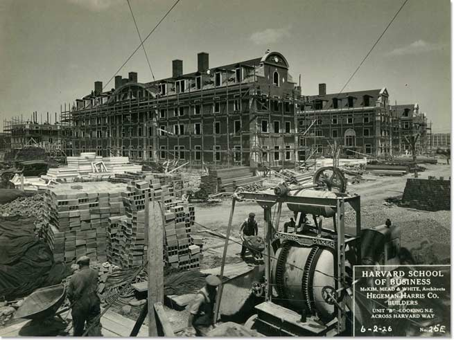 Construction View, East Dormitories, June 1926