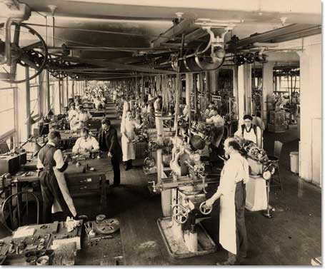 Tool Making Department, ca. 1933.