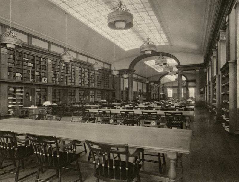 Hbs Baker Library Room