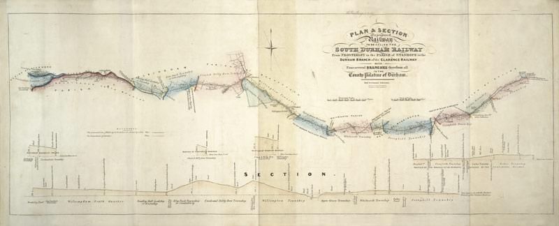 South Durham Railway Prospectuses Etc London 1835 1836