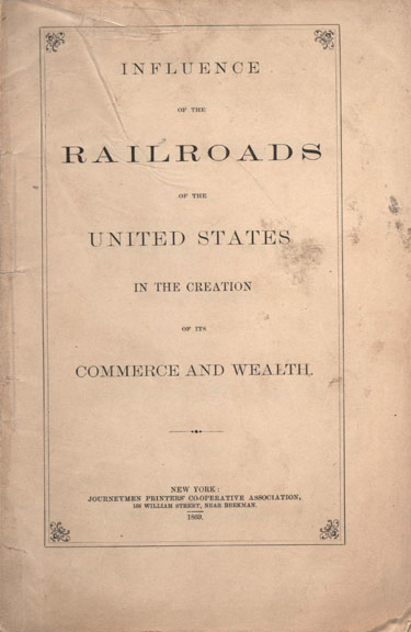 Triumphant Democracy: US Railroads
