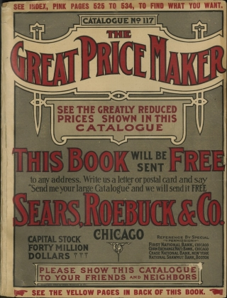 Sears, Roebuck Company. Sears; [catalog], 1908. Trade Catalog Collection, Baker Library, Harvard Business School.