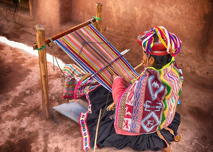 Image of loom worker. (iStock Photo)