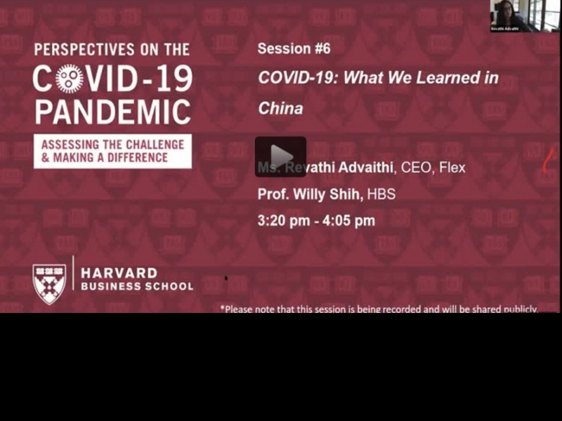 COVID-19: What We Learned in China