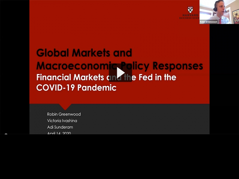 Financial Markets and the Fed in the COVID-19 Pandemic